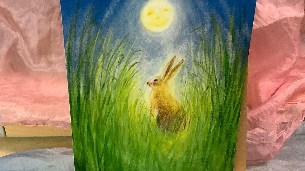 Postcard (Bunny & Moon)