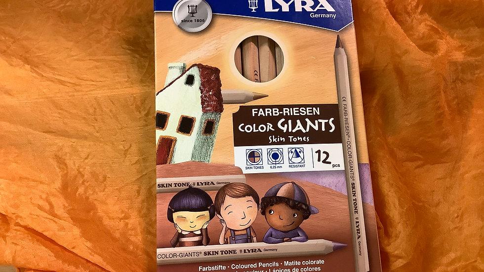 Lyra Giants Skin Tones 12pk