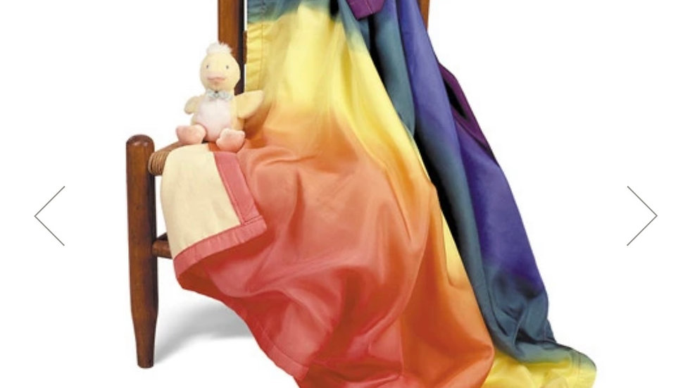 Sarah Silk's Rainbow baby blanket