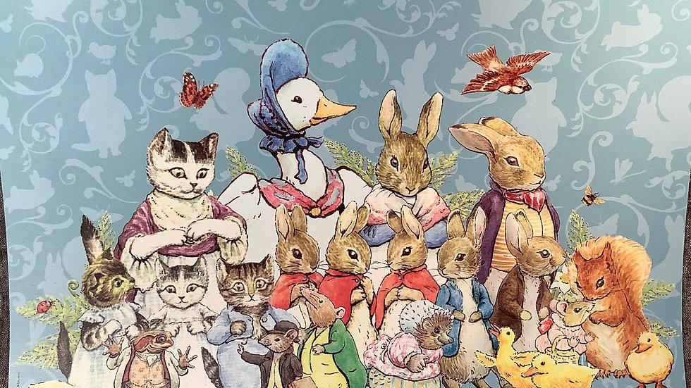 Peter Rabbit placemat GU