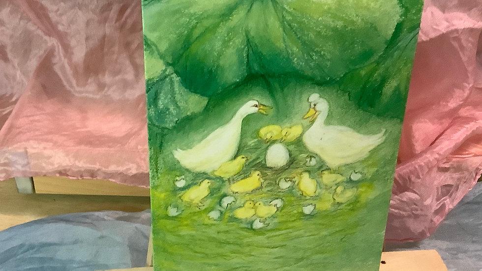 Postcard (Ducklings)