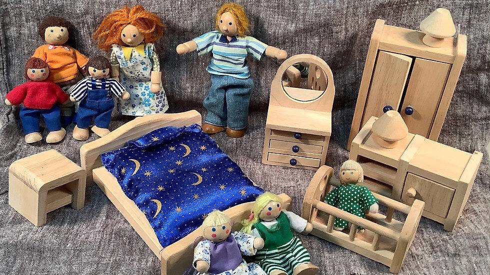 39 piece Ryan's Room doll furniture