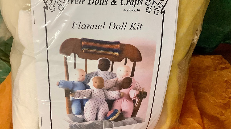 Doll Making flannel body kit