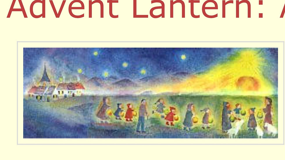Advent Lantern Calendar