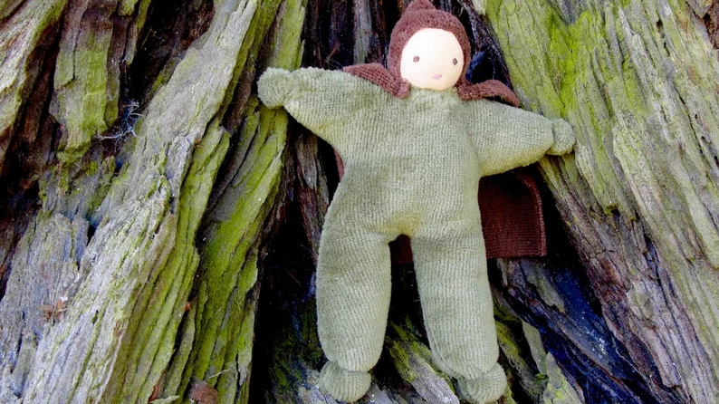 Velour dollhouse Forest Hero