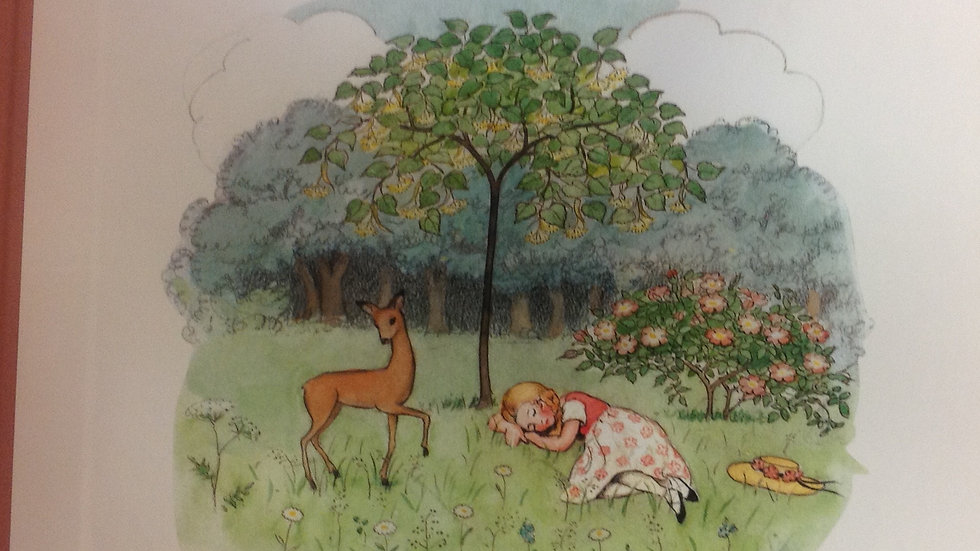 Elsa Beskow - Rosalind and the Little Deer
