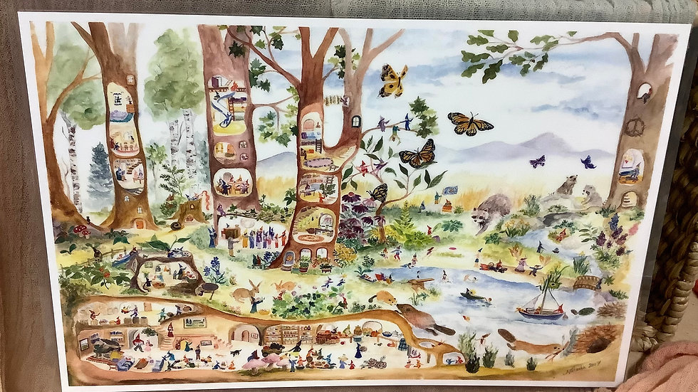 Placemat Friends of the Forest