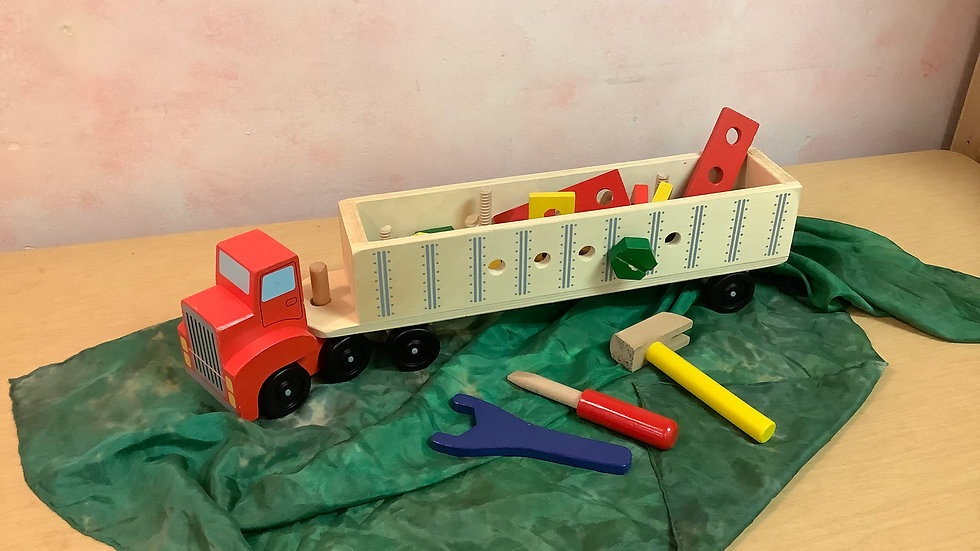 Melissa & Doug Big Rig Builder