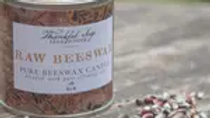 Beeswax candle Clove