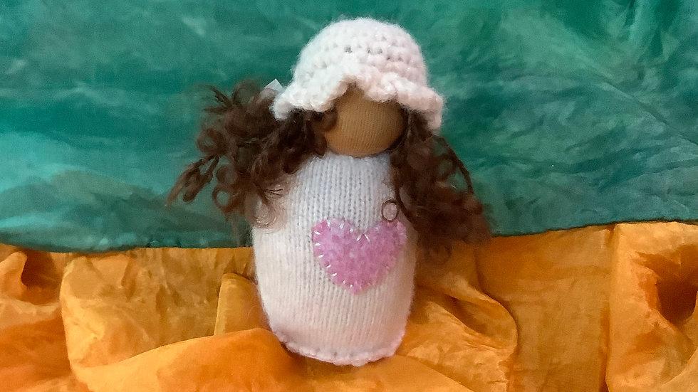Handmade pocket doll