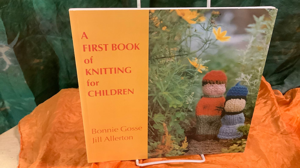 A First Book of Knitting Gently Used