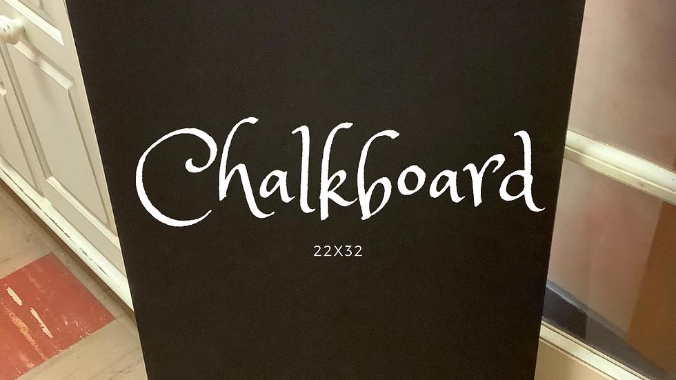 Gently Used Chalkboard