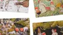 Elsa Beskow tray puzzle set