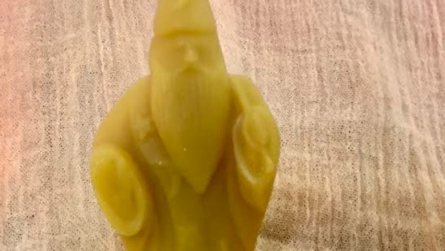 Beeswax Wizard Candle