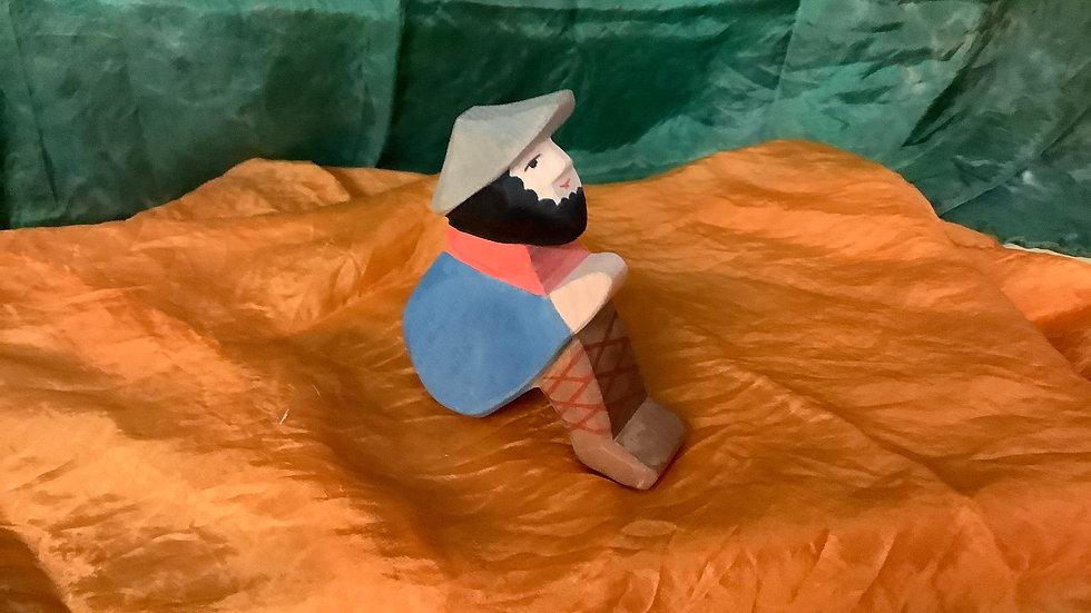 Ostheimer sitting Shepherd