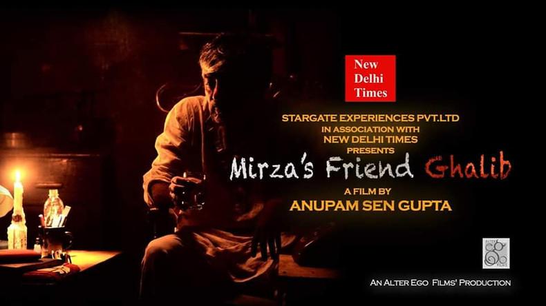 Mirza's Friend Ghalib
