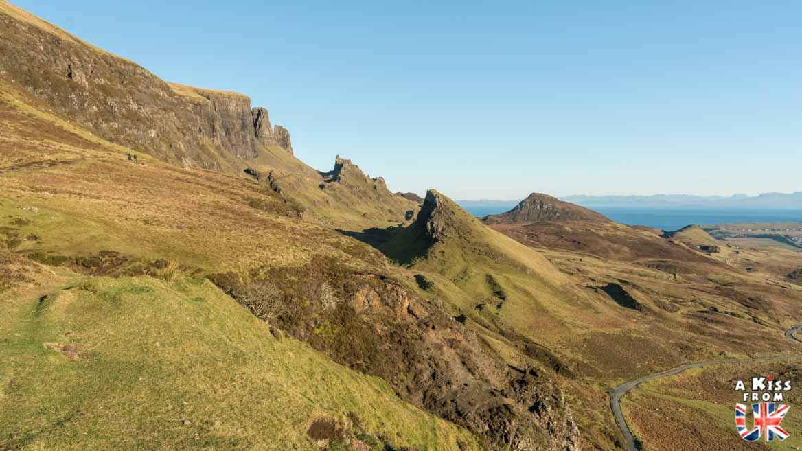 le Quiraing sur l'île de Skye - Les plus belles randonnées d'Ecosse - Découvrez quelles sont les randonnées à faire en Ecosse avec A Kiss from UK, le guide et blog du voyage en Grande-Bretagne