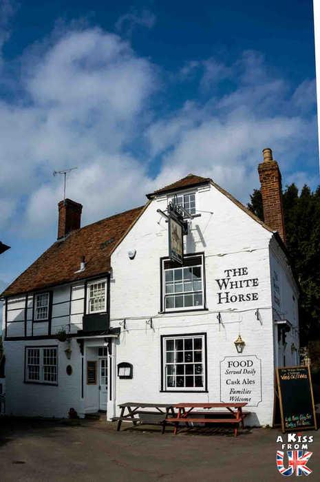The White Horse à Chilham dans le Kent - Découvrez les meilleurs pubs de Grande-Bretagne. Quels sont les meilleurs pubs d'Angleterre, d'Ecosse et du Pays de Galles ?