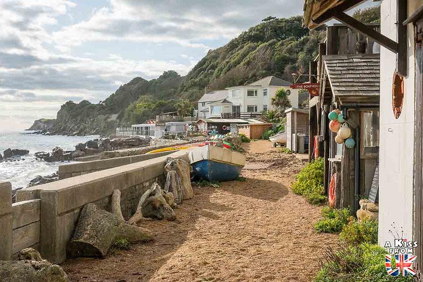 Steephill Cove - Que faire et que voir sur l'île de Wight en Angleterre ? Visiter l'île de Wight et ses plus beaux endroits avec A Kiss From UK, le blog du voyage en Grande-Bretagne.