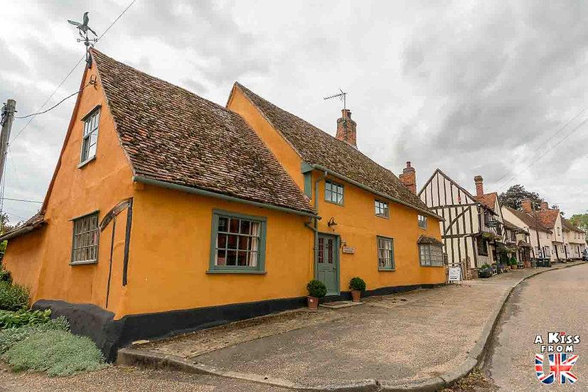 Kersey - Que voir dans le Suffolk en Angleterre ? Visiter le Suffolk avec A Kiss from UK, le guide et blog du voyage en Angleterre.
