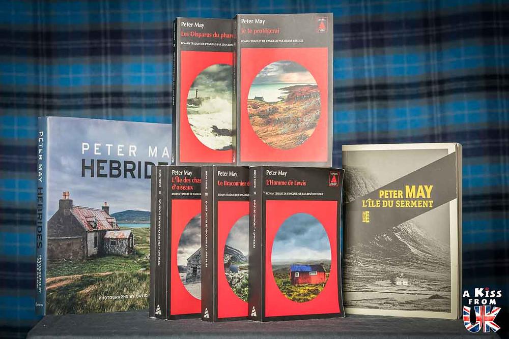 Les romans de Peter May se déroulant en Ecosse. Voyager dans les îles des Hébrides Extérieures en Ecosse à travers les livres de Peter May - Présentations et avis de lecture des livres de Peter May | A Kiss from UK
