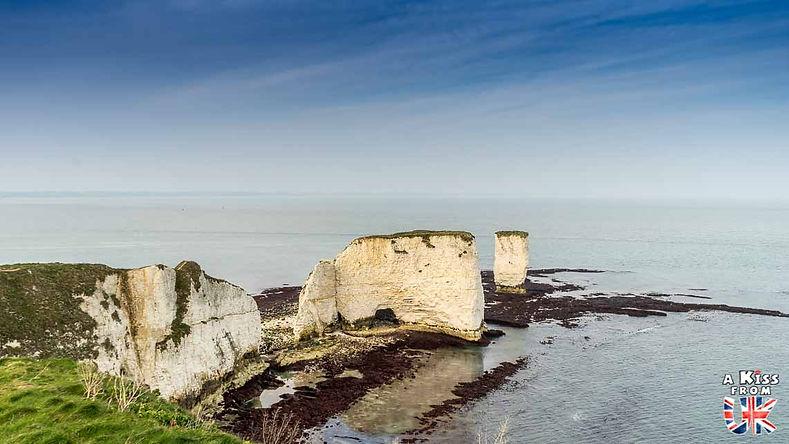 Old Harry Rocks - Découvrez les plus beaux paysages d'Angleterre avec notre guide voyage qui vous emménera visiter les plus beaux endroits d'Angleterre.