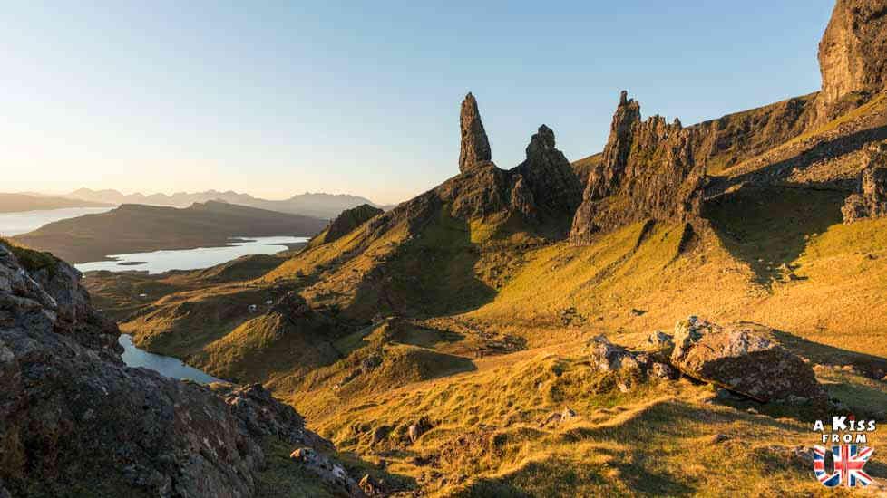 Le Old Man of Storr sur l'île de Skye - Les plus belles randonnées d'Ecosse - Découvrez quelles sont les randonnées à faire en Ecosse avec A Kiss from UK, le guide et blog du voyage en Grande-Bretagne
