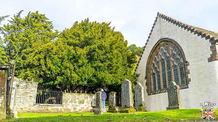 L'If de Fortingall - Les choses à faire et les lieux à voir dans le Perthshire en Ecosse - Visiter le Perthshire avec A Kiss from UK, le blog du voyage en Ecosse.
