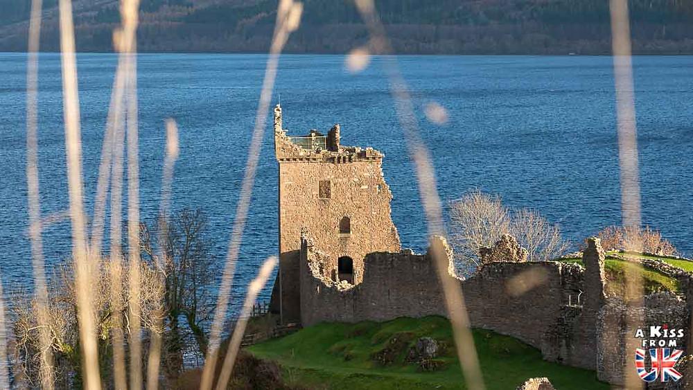 Urquhart Castle - Faut-il visiter le Loch Ness? Voyager en Ecosse et chercher le monstre du Loch Ness.  A Kiss from UK, blog de voyage ecosse angleterre et pays de galles