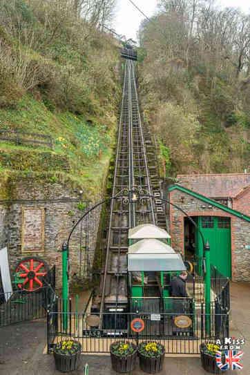 Le funiculaire de Lynmouth - Que voir dans le Parc d'Exmoor en Angleterre ? Visiter Exmoor avec A Kiss from UK, le guide & blog du voyage en Ecosse, Angleterre et Pays de Galles.