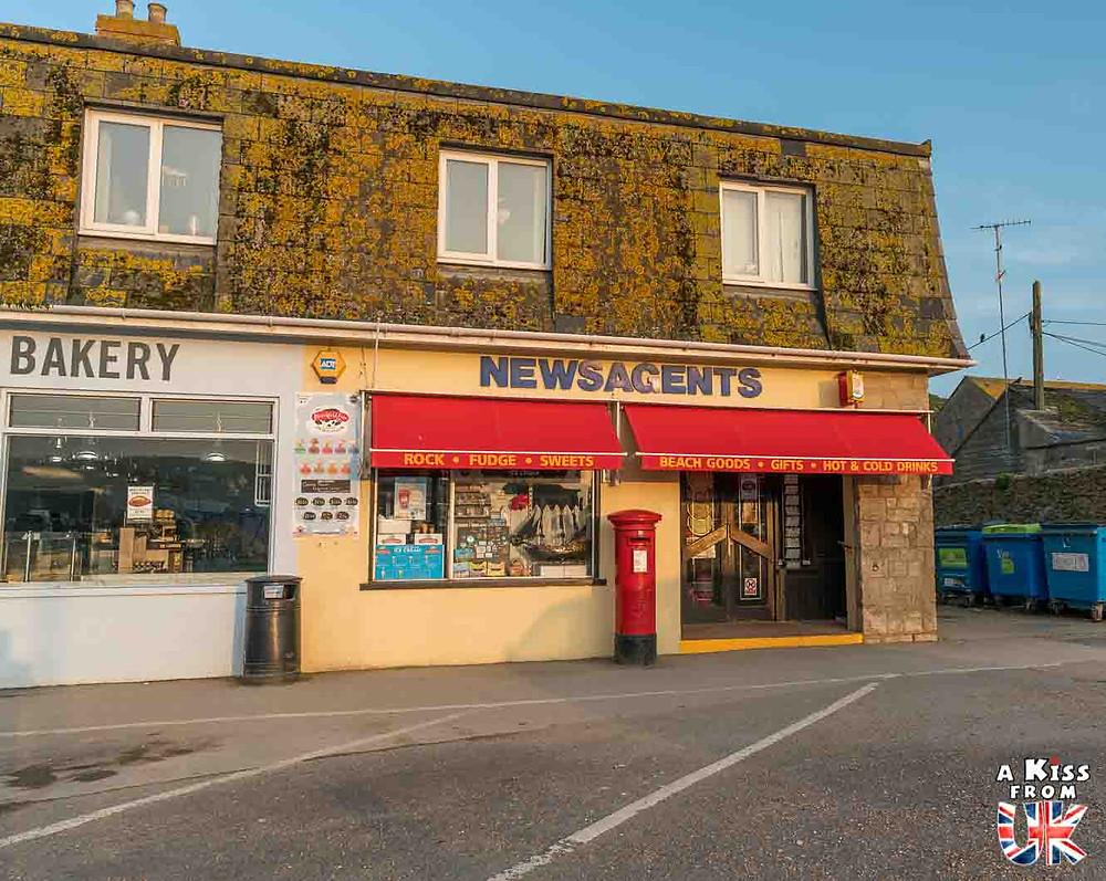 Le marchand de journaux de Broadchurch - Les lieux de tournage de la série Broadchurch, diffusée sur France 2, dans le village de Westbay dans le Dorset