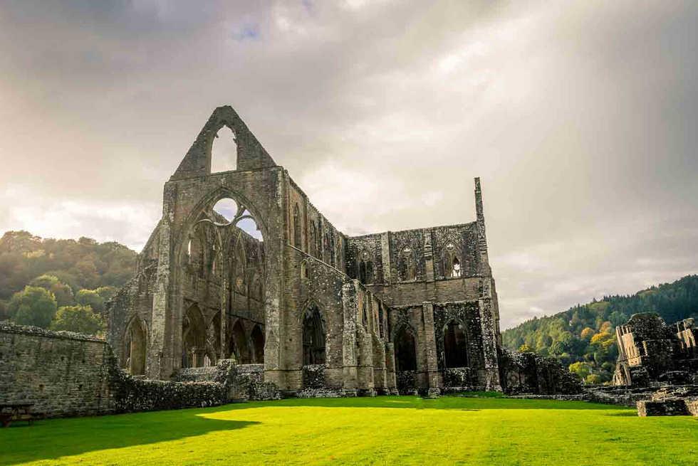 Tintern Abbey - Les plus belles ruines de Grande-Bretagne - A Kiss from UK, le blog du voyage en Ecosse, Angletere et Pays de Galles.