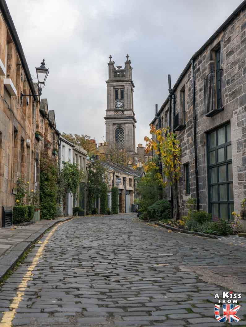 Visiter Circus Lane, la rue la plus photogénique d'Édimbourg. Balade à Circus Lane, la rue la plus Instagrammable d'Edimbourg.