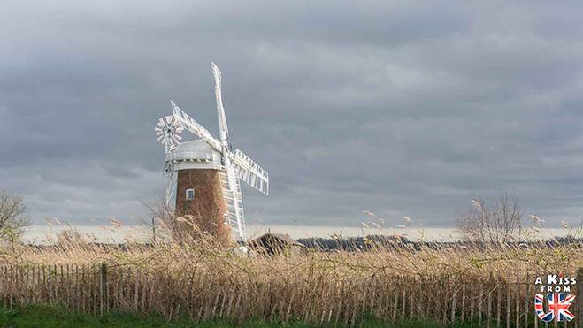 Horsey Windpump Woodbastwick - Visiter le Norfolk - Découvrez les plus beaux endroits à voir et les choses à faire dans le Norfolk - Visiter le Norfolk et le Parc National de The Broads en Angleterre.