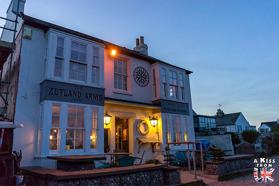 Le Zetland's Arms - Week-end dans le Kent en famille - itinéraire de roadtrip dans le sud de l'Angleterre dans la région du Kent - A Kiss from UK, le guide et blog du voyage en écosse, angleterre et pays de galles