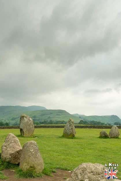 Castlerigg Stone Circle - Que voir absolument dans le Lake District en Angleterre ? Visiter le Lake District avec A Kiss from UK, le blog du voyage en Ecosse, Angleterre et Pays de Galles