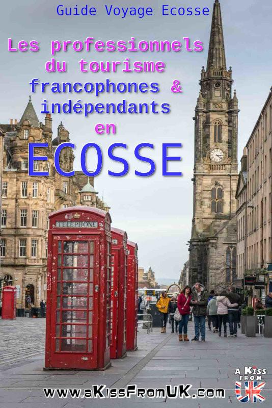 Les professionnels du tourisme francophones et indépendants en Ecosse | Découvrez tous les professionnels francophones du tourisme en Ecosse ! Guides français à Édimbourg ou sur l'île de Skye, loueur de tente, agences de voyage francophones, se marier en Ecosse... vous n'imaginez pas tout ce qu'il est possible de faire avec des personnes parlant français pendant votre voyage en Ecosse !