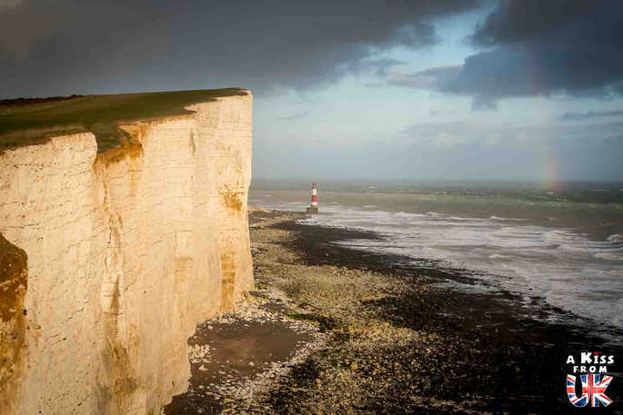 Beachy head - Que voir absolument dans le Sussex en Angleterre ? Visiter le Sussex  et ses plus beaux endroits avec A Kiss from UK, le guide et blog du voyage en Ecosse, Angleterre et Pays de Galles.