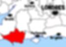 carte dorset - Que voir dans le Dorset en Angleterre ? Visiter le Dorset avec A Kiss from UK, le blog du voyage en Ecosse, Angleterre et Pays de Galles.