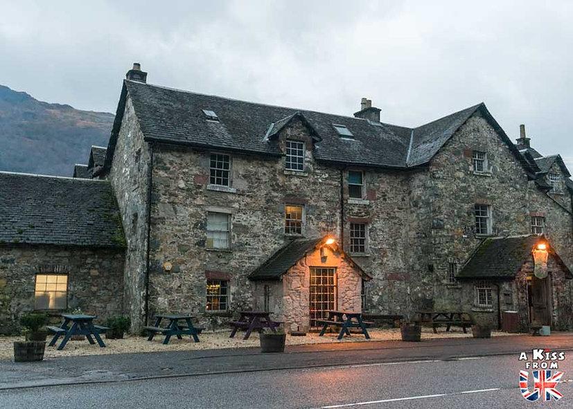 Le Drovers Inn - A voir et à faire dans le Loch Lomond et les Trossachs en Ecosse. Visiter le Parc National du Loch Lomond et des Trossachs avec notre guide complet. A Kiss from UK, le blog du voyage en Ecosse.
