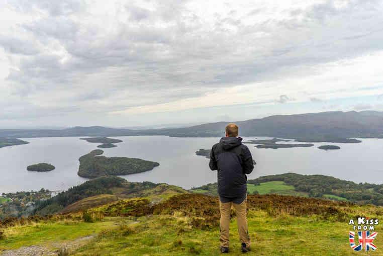 Conic Hill dans le Loch Lomond - Les plus belles randonnées d'Ecosse - Découvrez quelles sont les randonnées à faire en Ecosse avec A Kiss from UK, le guide et blog du voyage en Grande-Bretagne
