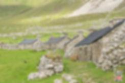 le village de St Kilda - Visiter les îles de St Kilda en Ecosse avec le guide complet d'A Kiss From UK, le blog du voyage en Ecosse
