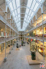 Le National Museum of Scotland à Edimbourg - A voir absolument et à faire à Edimbourg - Visiter Edimbourg avec le guide complet d'A Kiss from UK, le blog du voyage en Ecosse.