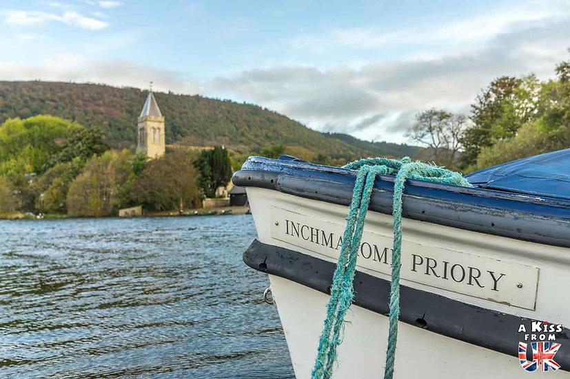 Le prieuré d'Inchmahome - A voir et à faire dans le Loch Lomond et les Trossachs en Ecosse. Visiter le Parc National du Loch Lomond et des Trossachs avec notre guide complet. A Kiss from UK, le blog du voyage en Ecosse.