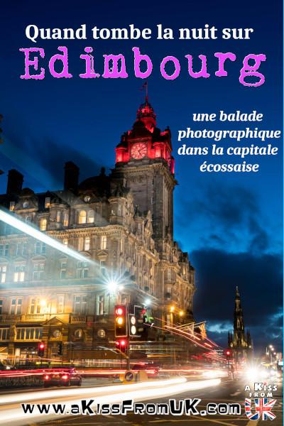 Visiter Edimbourg de nuit avec notre reportage photo dans les lieux incontournables d'Édimbourg à la lueur des réverbères. Venez visiter les plus beaux endroits d'Édimbourg la nuit en photos. Découvrez la Royal Mile, l'Hotel Balmoral, Princes Street, Greyfriars et bien d'autres endroits by night. Quand la nuit tombe, Édimbourg devient féerique. Partez sur les traces d'Harry Potter et sur les lieux les plus hantés d'Édimbourg dans ce reportage photographique.