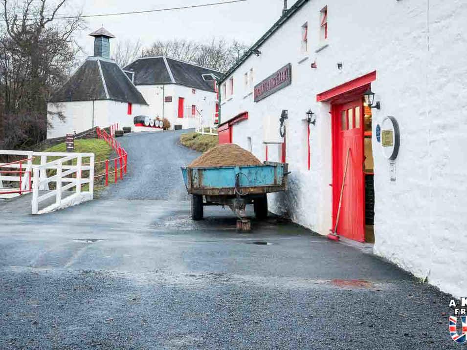 La distillerie Edradour - Comment choisir son circuit en Ecosse ?Comment préparer son voyage en Ecosse? - A Kiss from UK, le blog du voyage en Ecosse, Angleterre et Pays de Galles.