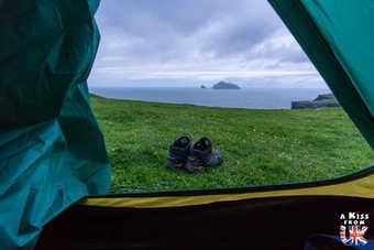 Camping sur St Kilda - Visiter l'archipel de St Kilda en Ecosse - Que voir sur l'île de St Kilda en Ecosse ? - A Kiss from UK, guide et blog voyage sur l'Ecosse.