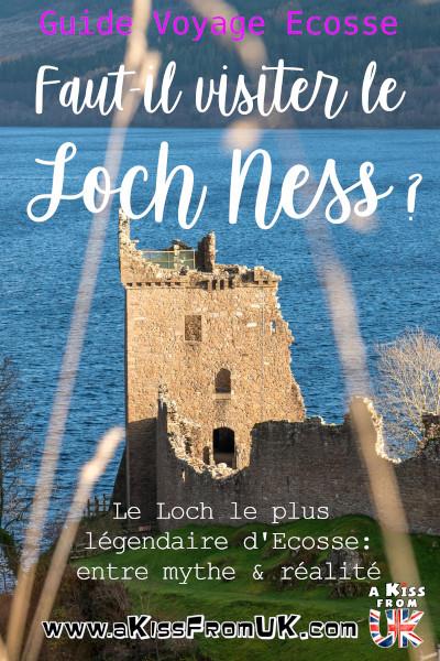 Le Loch Ness est-il un incontournable d'un séjour en Ecosse ou risquez-vous d'être déçu en vous y rendant ? La réponse se trouve dans cet article d'A Kiss from UK, le blog du voyage en Ecosse, Angleterre et Pays de Galles.