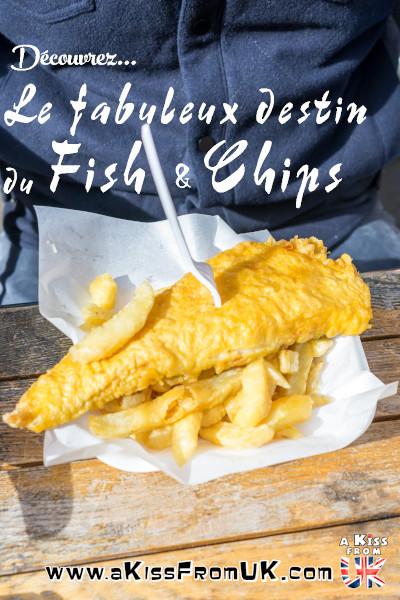 Plat emblématique de la cuisine britannique, le Fish & Chips a une longue histoire derrière lui... Venez la découvrir sur A Kiss from UK, le blog du voyage en Ecosse, Angleterre et Pays de Galles !