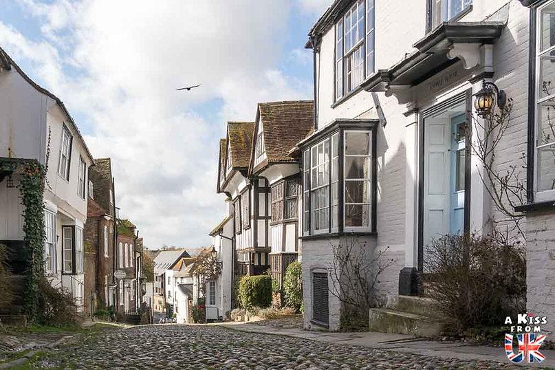 Rye dans le Sussex - Les lieux à voir absolument en Angleterre en dehors de Londres. Découvrez quels sont les plus beaux endroits d'Angleterre et les incontournables à visiter en dehors de Londres lors de votre voyage - A Kiss from UK, le blog du voyage en Grande-Bretagne.